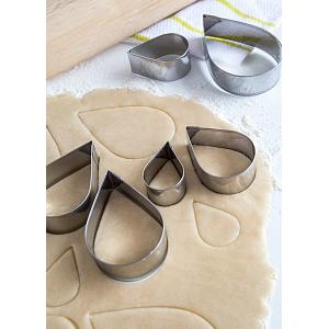 Fox Run Tear Drop Cookie Cutter Set