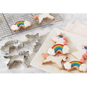 Fox Run Unicorn Cookie Cutter Set