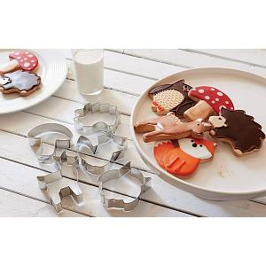 Fox Run Woodland Animal Cookie Cutter Set