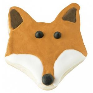 "Fox Run 3"" Fox Head Cookie Cutter"