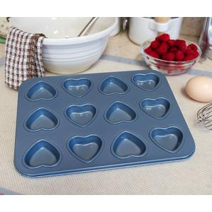 Fox Run Heart Mini Muffin Pan