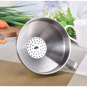 Cuisinox Stainless Steel Funnel with Filter