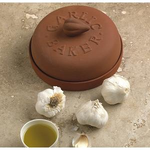 "Fox Run 7"" Terra Cotta Garlic Baker"