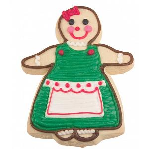 "Fox Run 3"" Gingerbread Girl Cookie Cutter"