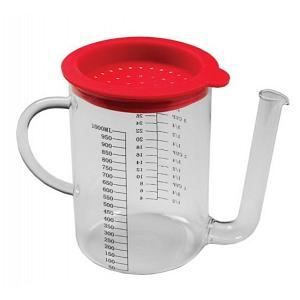 Glass Gravy Separator 4-Cup