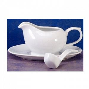 BIA Cordon Bleu Gravy Boat with Saucer and Ladle