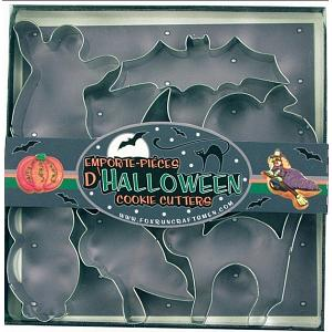 Fox Run 7 Piece Halloween Cookie Cutter Set