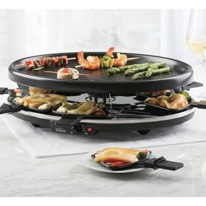 Trudeau Harmony 8 Person Raclette Grill