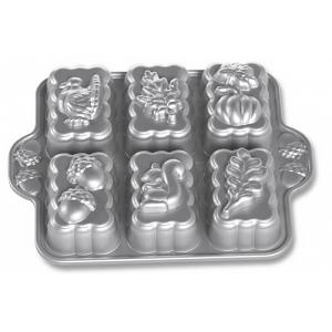Nordic Ware Harvest Mini Loaf Pan