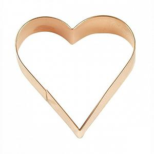 "Fox Run 3"" Copper Heart Cookie Cutter"