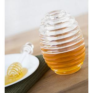 Fox Run Honey Jar & Dipper Set