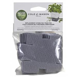 Cole & Mason Reusable Hydro Felt Pads Pack of 6