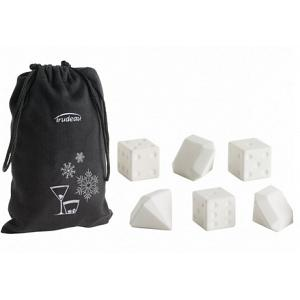 Trudeau Dice and Diamond Drink Chillers Set of 7