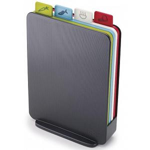 Joseph Joseph Index Compact Graphite Cutting Board Set