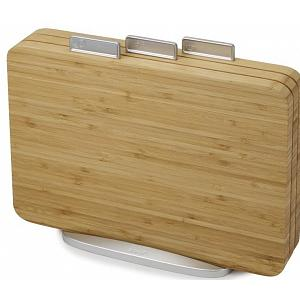 Joseph Joseph Index Bamboo Cutting Board Set