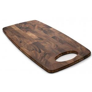 Ironwood Calistoga Acacia Wood End Grain Cheese Cutting Board