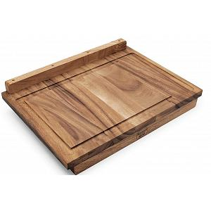 Ironwood Lyon Reversible Acacia Wood Pastry Board