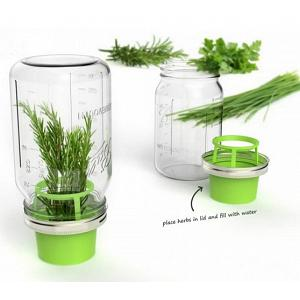 Jarware Herb Saver Mason Jar Lid
