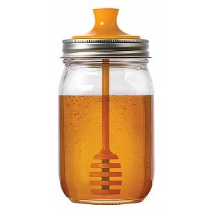 Jarware Honey Dipper Mason Jar Lid