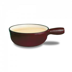 Swissmar Lugano Cherry Red Cheese Fondue Pot