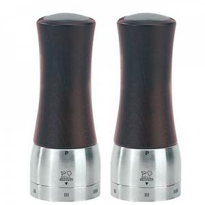 Peugeot Madras u'Select Chocolate 16cm Salt & Pepper Mill Set