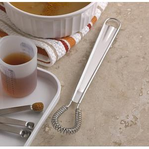 "Fox Run 8"" Stainless Steel Flat Coil Magic Whisk"