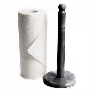 Fox Run Black Marble Towel Holder