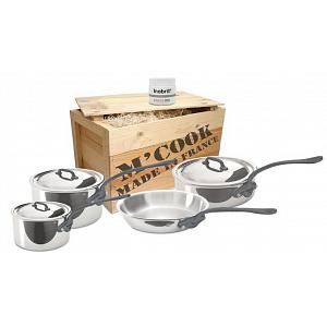 Mauviel M'cook C2 Stainless Steel Cookware Set