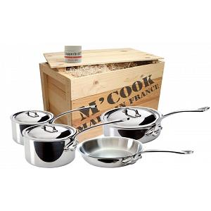 Mauviel M'cook Stainless Steel Cookware Set