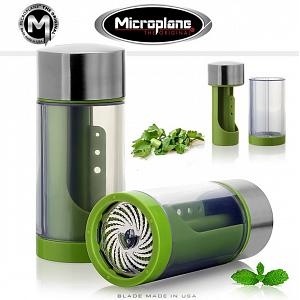 Microplane Stainless Steel 2 in 1 Herb Mill