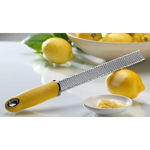 Microplane Premium Series Yellow Zester Grater