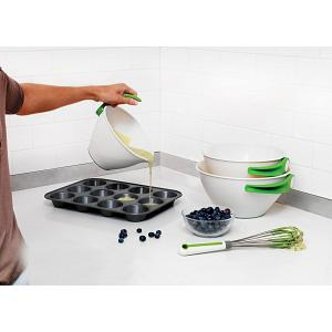 Chef'n SleekStor Pop & Pour Mixing Bowl Set