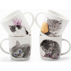 BIA Cordon Bleu Kitty Crush Mug Set of 4