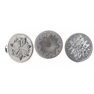 Nordic Ware Set of 3 Starry Night Cookie Stamps