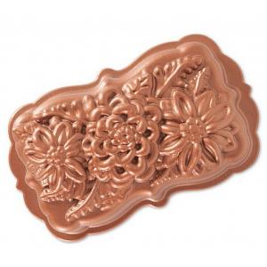 Nordic Ware Copper Wildflower Loaf Pan