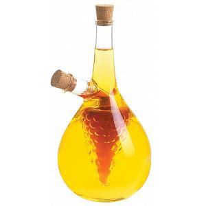 Fox Run Round Grape Oil & Vinegar Bottle