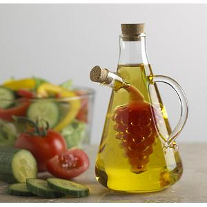 Fox Run Grape Oil & Vinegar Bottle with Handle
