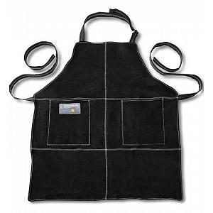 Outset Black Leather Grill Apron