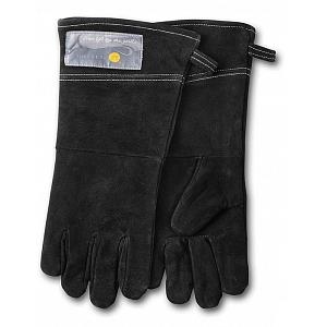 Outset Black Leather Grill Gloves