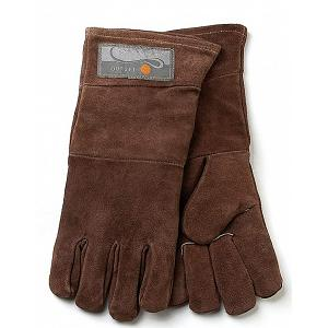 Outset Brown Leather Grill Gloves