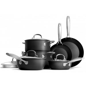 Oxo Good Grips 10-Piece Hard Anodized Pro Cookware Set