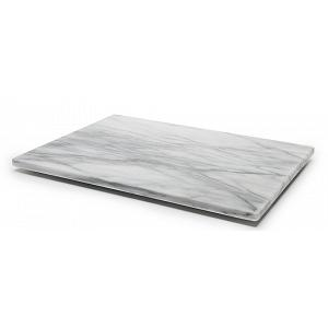 "Fox Run White Marble Pastry Board 16"" x 12"""