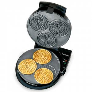 Chef's Choice Pizzelle Pro Express Bake Pizzelle Maker
