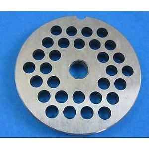 Porkert Meat Grinder #8 Replacement Grinder Plate 1/4""