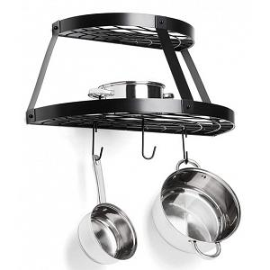 Fox Run 2-Shelf Carbon Steel Pot Rack