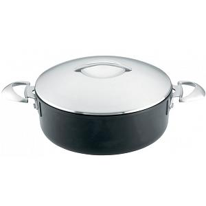 Scanpan Professional 5.25L Covered Low Sauce Pot