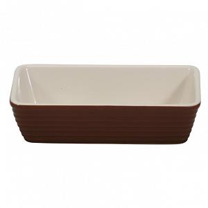Rectangular Small Baker Brown