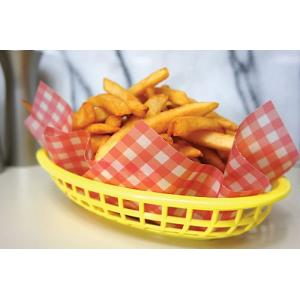 Fox Run Red Gingham French Fry Paper