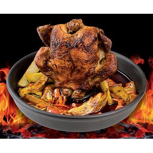 Romertopf BBQ 8-10 lbs Flame Safe Poultry Roaster