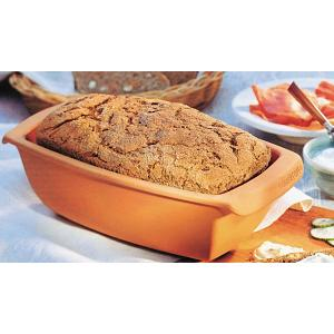 Romertopf Rectangular Clay Bread Loaf Pan